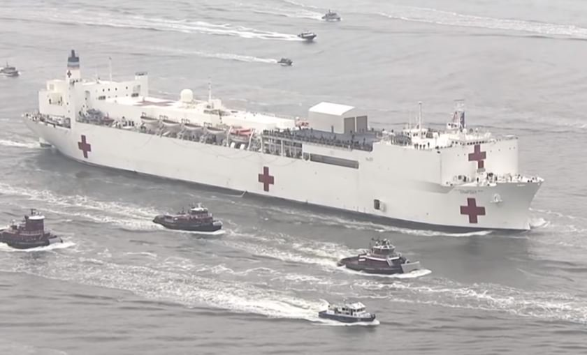 Oops! Several Coronavirus Patients were Accidentally Transferred to the USNS Comfort in NY City by Mistake