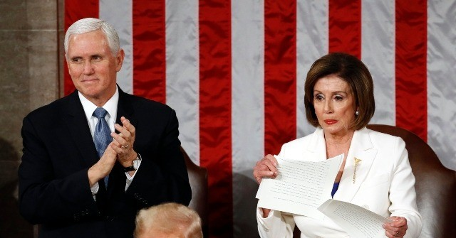 Donald Trump Vowed Coronavirus Action in SOTU Speech Pelosi Ripped Up