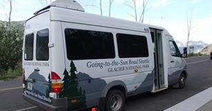 The Huckleberry Hiker: Glacier National Park Reaches Two-Year Agreement to Provide Shuttles Services Along the Going-to-the-Sun Road
