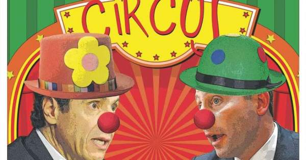 Poems and Short Stories of T.L. Coston: Cuomo the Killer Clown