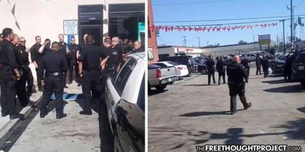 California: Pastor Whose Church Was Shut Down, Owns 20 Cops For Not Social Distancing (Video) - The Washington Standard