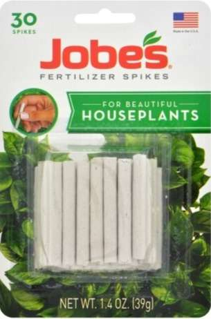 EasyGardenerInc Jobe's Fertilizer Spikes For Beautiful Houseplants (Multiple Sizes / Varieties)