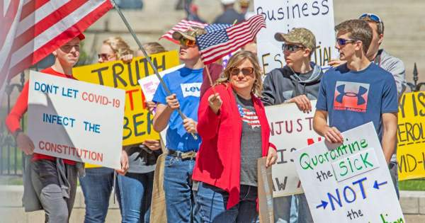 Deep State Profiles Coronavirus Protesters as Domestic Terrorists, Warns of Violence From Anti-Quarantine Demonstrators - Big League Politics
