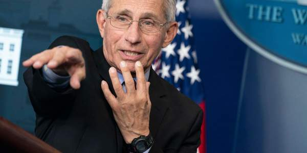 Fauci changes tune, now says second COVID-19 wave may never happen — and mask-wearing is symbolic - TheBlaze