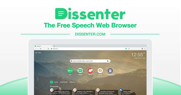 Dissenter | The Comment Section of the Internet