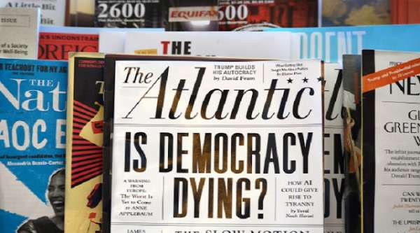 Alt-Left Media Is Dying: Atlantic Media Lays off 20 Percent of Staff amid Advertising Collapse - Sentry Bugle