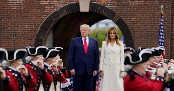 Donald Trump at Fort McHenry: 'We Are the Captains of Our Own Fate'