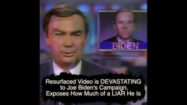 Resurfaced Video is DEVASTATING to Joe Biden's Campaign, Exposes How Much of a LIAR He Is