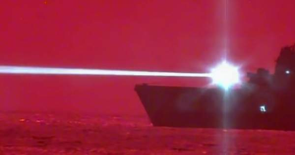 Watch US Navy Ship Blast Aircraft Out of Sky with High-Powered Laser Weapon