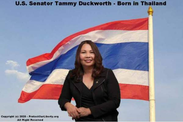 U.S. Senator Duckworth Holds Dual-Citizenship and Dual-Allegiance to Two Countries - The Post & Email