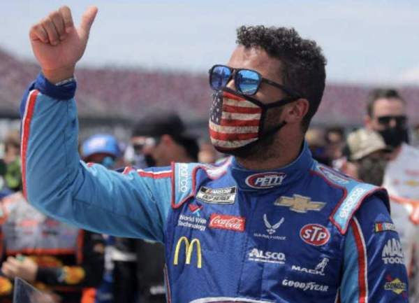 """Bubba Wallace's noose incident was over a """"pull-down rope"""""""