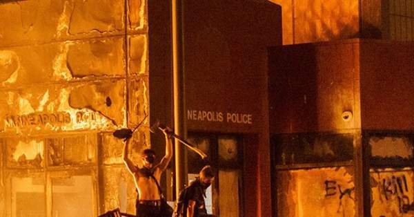 Man Accused of Burning Down Minneapolis Police Station Arrested