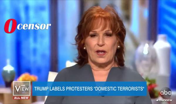 Joy Behar Calls Trump Domestic Terrorist For Demanding Protesters Be Stopped In Seattle - 0Censor