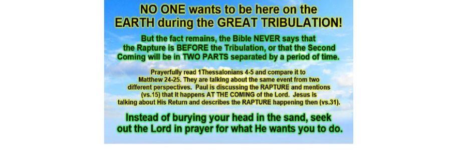 Post Tribulation Rapture Cover Image