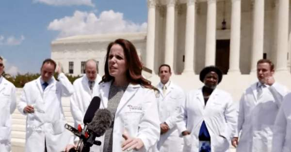 Watch Live: Frontline Physicians Aim to Dispel 'Massive' COVID-19 'Disinformation Campaign'