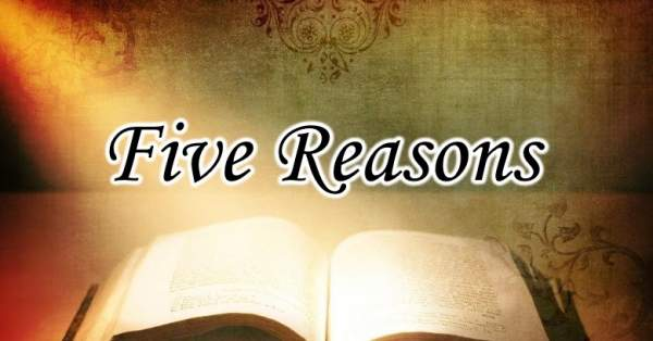 Meet Me At Calvary: Five Reasons The Bible Is True