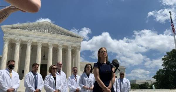 Watch Live: Silenced Frontline Doctors Hold Capitol Hill Press Conference to Challenge Big Tech