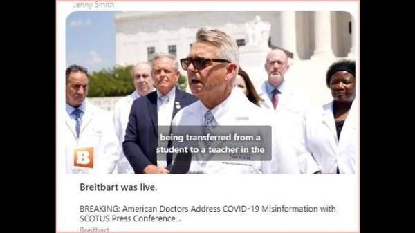 BREAKING: American Doctors Address COVID-19 Misinformation with SCOTUS Press Conference
