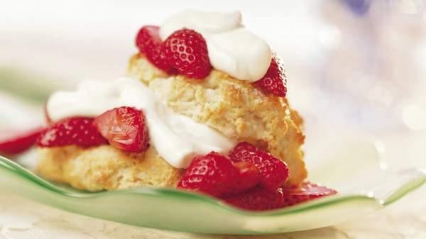 Big-Batch Strawberry Shortcakes Recipe