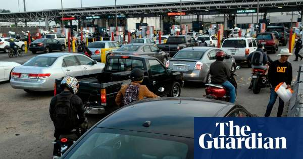 Mexico border towns try to stop Americans crossing amid Covid-19 fears | World news | The Guardian