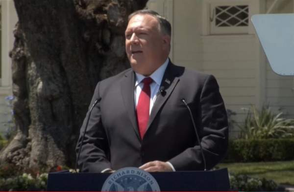 Pompeo: 'If We Don't Act Now, The CCP Will Erode Our Freedoms'