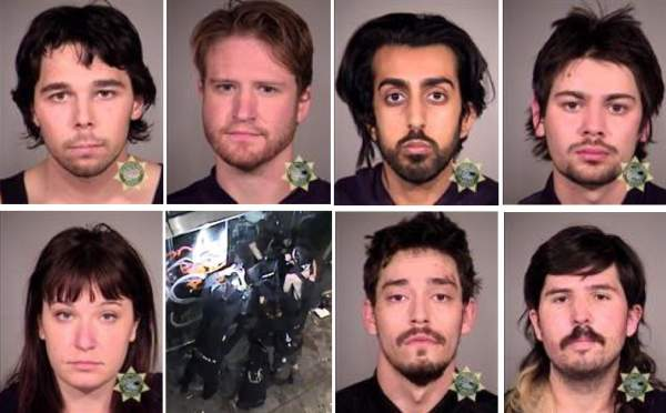 Seven Antifa Terrorists Arrested On Federal Charges After Weekend Of Carnage In Portland