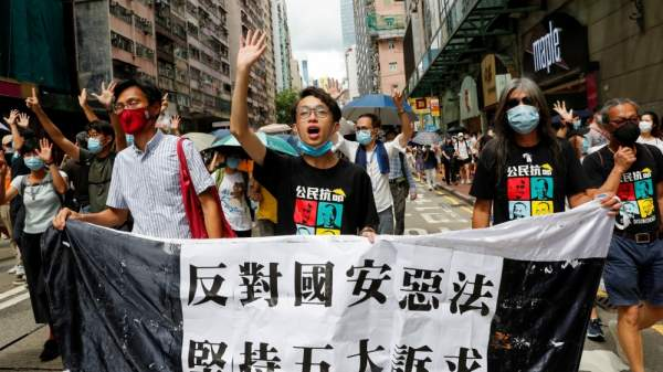 Hong Kong protesters use 'hidden language' to dodge security law |  News | Al Jazeera