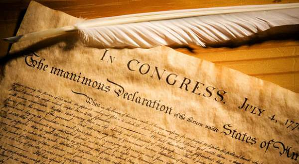 A New Declaration Of Independence For 2020 » Sons of Liberty Media