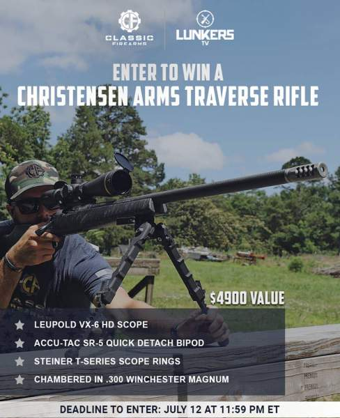 Contest - Win The Christensen Arms Traverse w/ Leupold VX-6 HD Scope