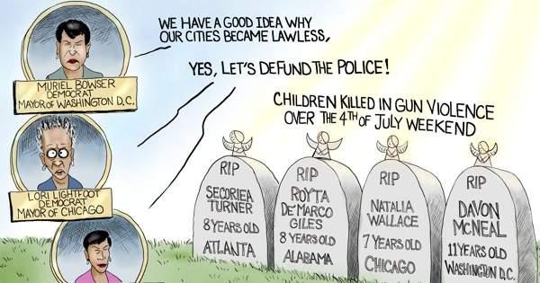 A.F. Branco Cartoon - Black Kid's Lives Matter - Comically Incorrect