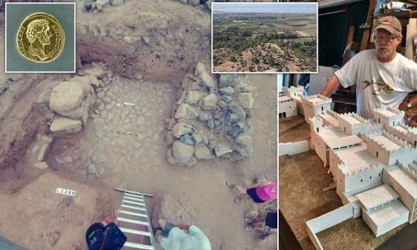 Biblical village of Bethsaida where Jesus walked on water is finally identified by archaeologists | Daily Mail Online