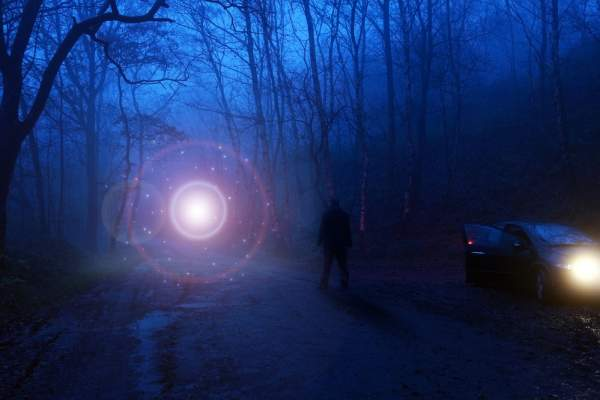 UFO researcher claims glowing orb over North Carolina has links to the Bible