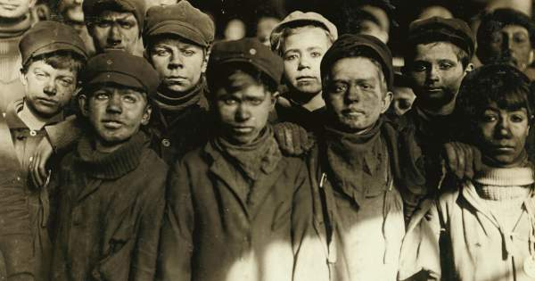 """""""The Breaker Boy"""" – A poem from 1897 about the child laborers of the Coal Region – Wynning History"""
