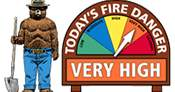 The Huckleberry Hiker: Fire danger moves to VERY HIGH in Flathead County