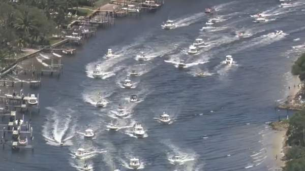 Hundreds of Boats Gather for Parade Supporting Trump Near Mar-a-Lago – NBC 6 South Florida