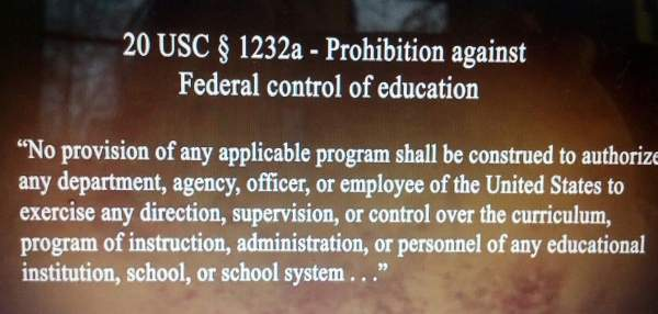 A Constitution-Usurping Government United Against Parents - Setting Brushfires