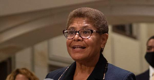 Five Facts Contradict Karen Bass's Claim That She Is 'Not a Communist'