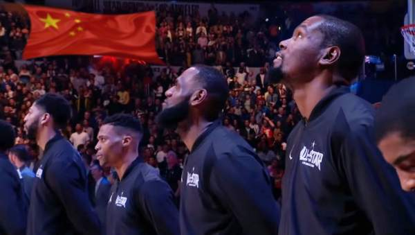 NBA Now Requiring All Players To Stand For Chinese National Anthem | The Babylon Bee