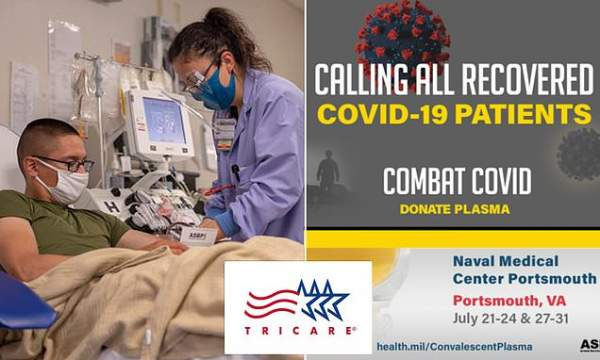Tricare mistakenly tells 600k in US they've had coronavirus | Daily Mail Online