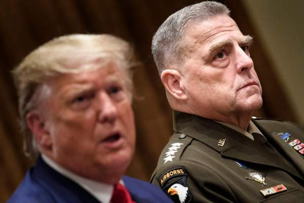 SORRY, NANCY…US Military will NOT remove President Trump from office in the case of a contested election