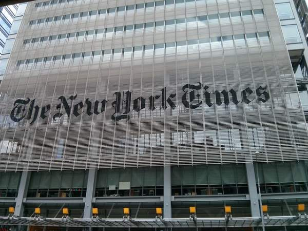 NYT Writes ZERO Articles On New George Floyd Video After Hyping Case For Over 2 Months