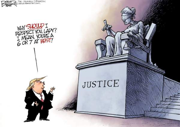 How Much Longer Will President Trump Leave Off Justice & What Will Be The Result? - Setting Brushfires