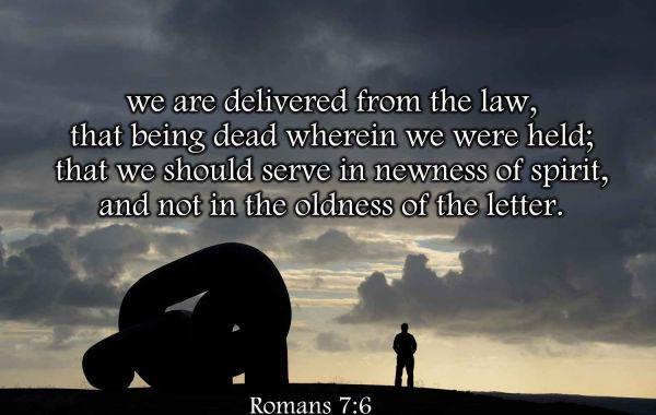 Living By Faith 5: Faith and The Law - Romans 7 Pt. 1