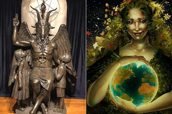 War Against The Core: Satanism, Earth Worship & UN Indoctrination Coming Into Public Schools - Setting Brushfires