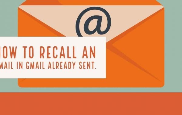How to Recall Your Email Just Sent in Gmail Account?