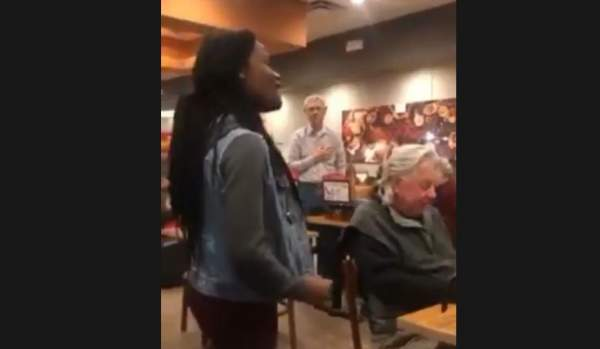 Woman Belts Out National Anthem In Cafe - Watch The Reaction (Video) - The Washington Standard
