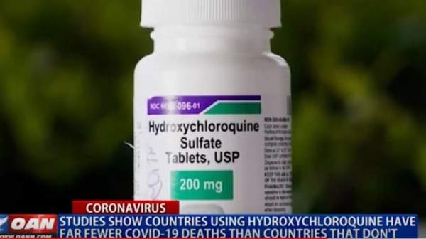 Studies show countries using hydroxychloroquine have far fewer COVID 19 deaths