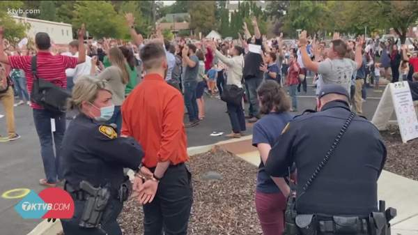 3 arrested for flouting mask order at Idaho church singing event | ktvb.com