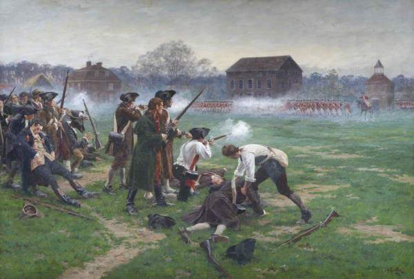Is America On The Verge Of The Battle Of Lexington 2.0? - Setting Brushfires