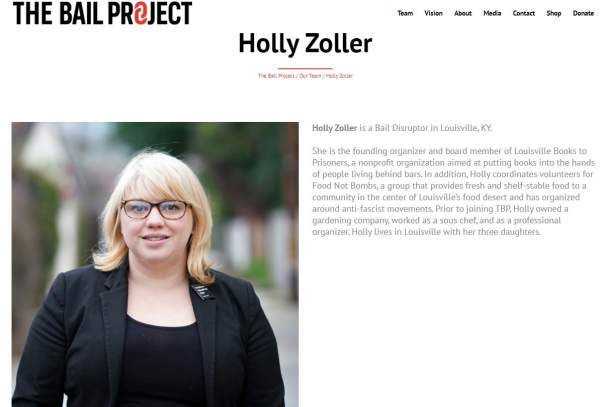 UPDATE — Soros anarchist agent Holly Zoller rented the suspicious U-Haul involved in Louisville riots… |